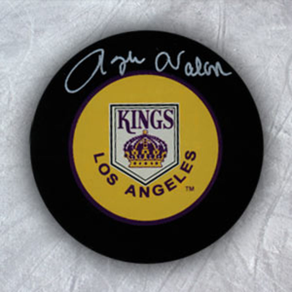 ROGIE VACHON Los Angeles Kings Autographed Hockey Puck