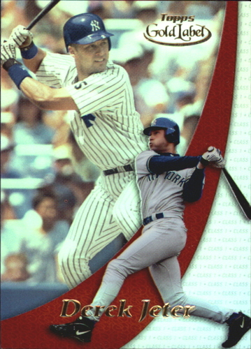Photo of 2000 Topps Gold Label Pre-Production #PP1 Derek Jeter