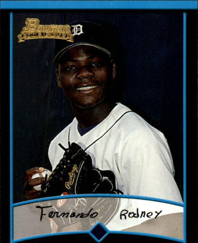 Photo of 2001 Bowman Draft #BDP85 Fernando Rodney Rookie Card -- D'backs post-season
