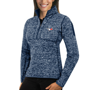 Toronto Blue Jays Women's Fortune 1/2 Zip Pullover by Antigua