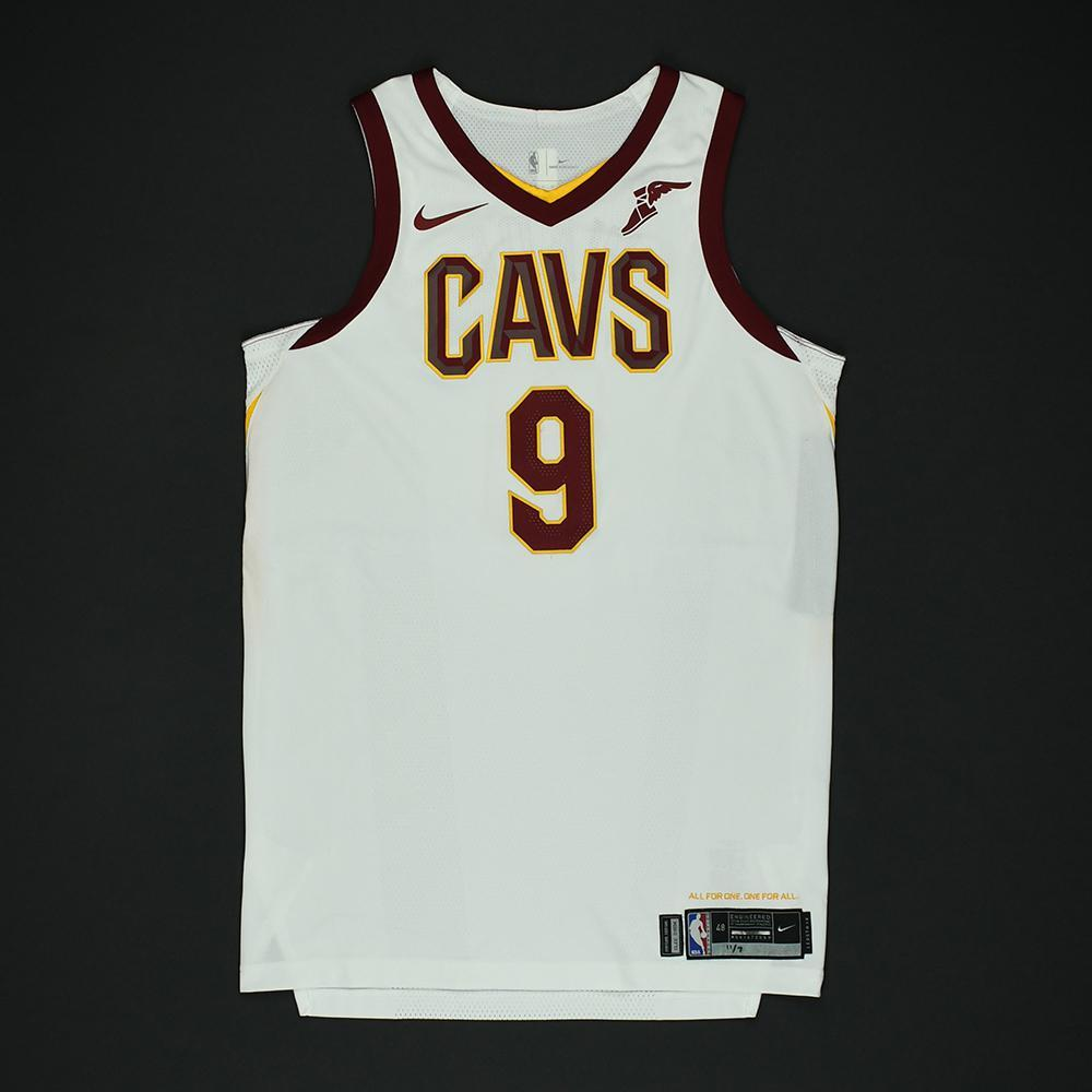 Dwyane Wade - Cleveland Cavaliers - Game-Worn 1st Half Only Jersey - 2017-18 NBA Season