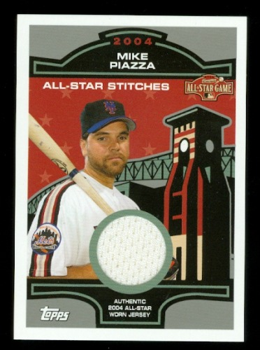Photo of 2005 Topps All-Star Stitches Relics #MP Mike Piazza