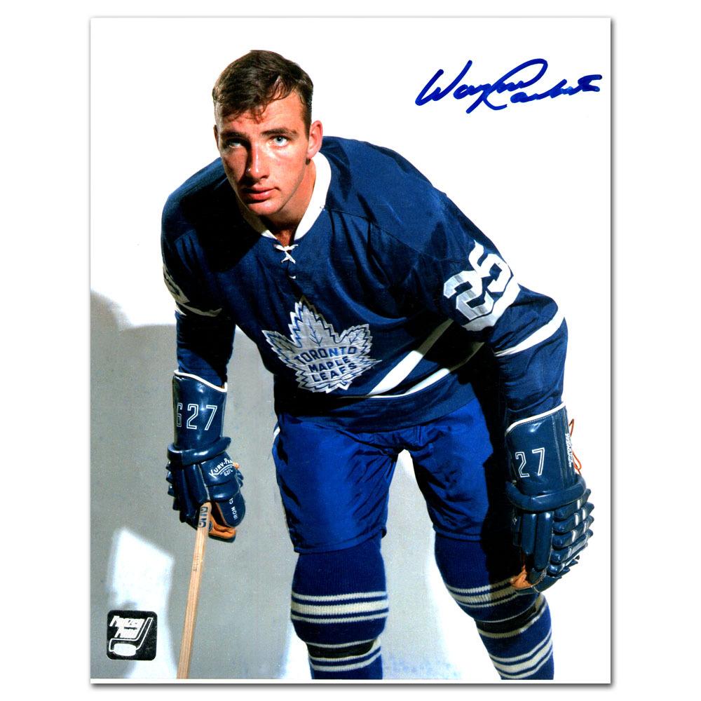 Wayne Carleton Autographed Toronto Maple Leafs 8X10 Photo