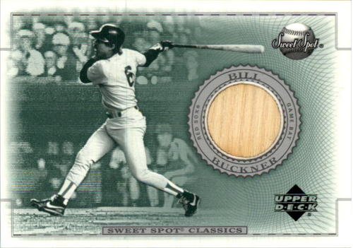 Photo of 2002 Sweet Spot Classics Game Bat #BBBU Bill Buckner