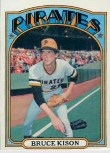 Photo of 1972 Topps #72 Bruce Kison RC