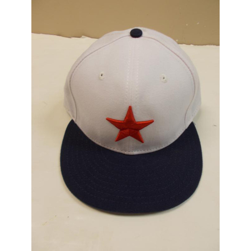 Photo of Game-Used Miguel Cabrera Negro League Baseball Cap