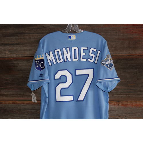 Photo of Raul Mondesi Game-Used Jersey (September 19, 2016 - CWS at KC) (Size 48)