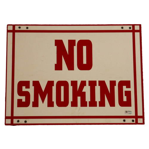 "Photo of San Francisco Giants - AT&T Park Sign - ""No Smoking"""