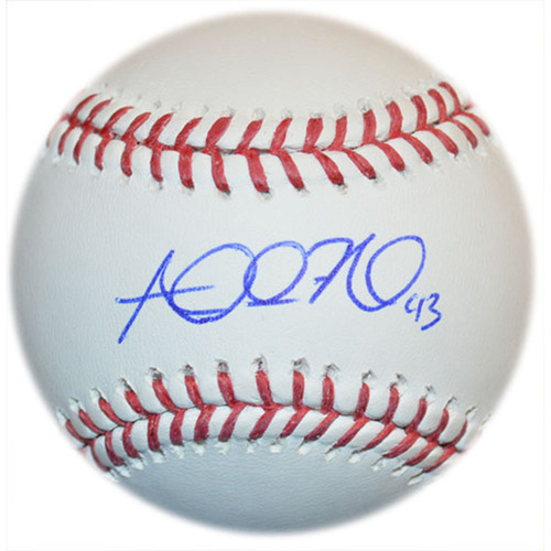 Photo of Addison Reed - Autographed Major League Baseball