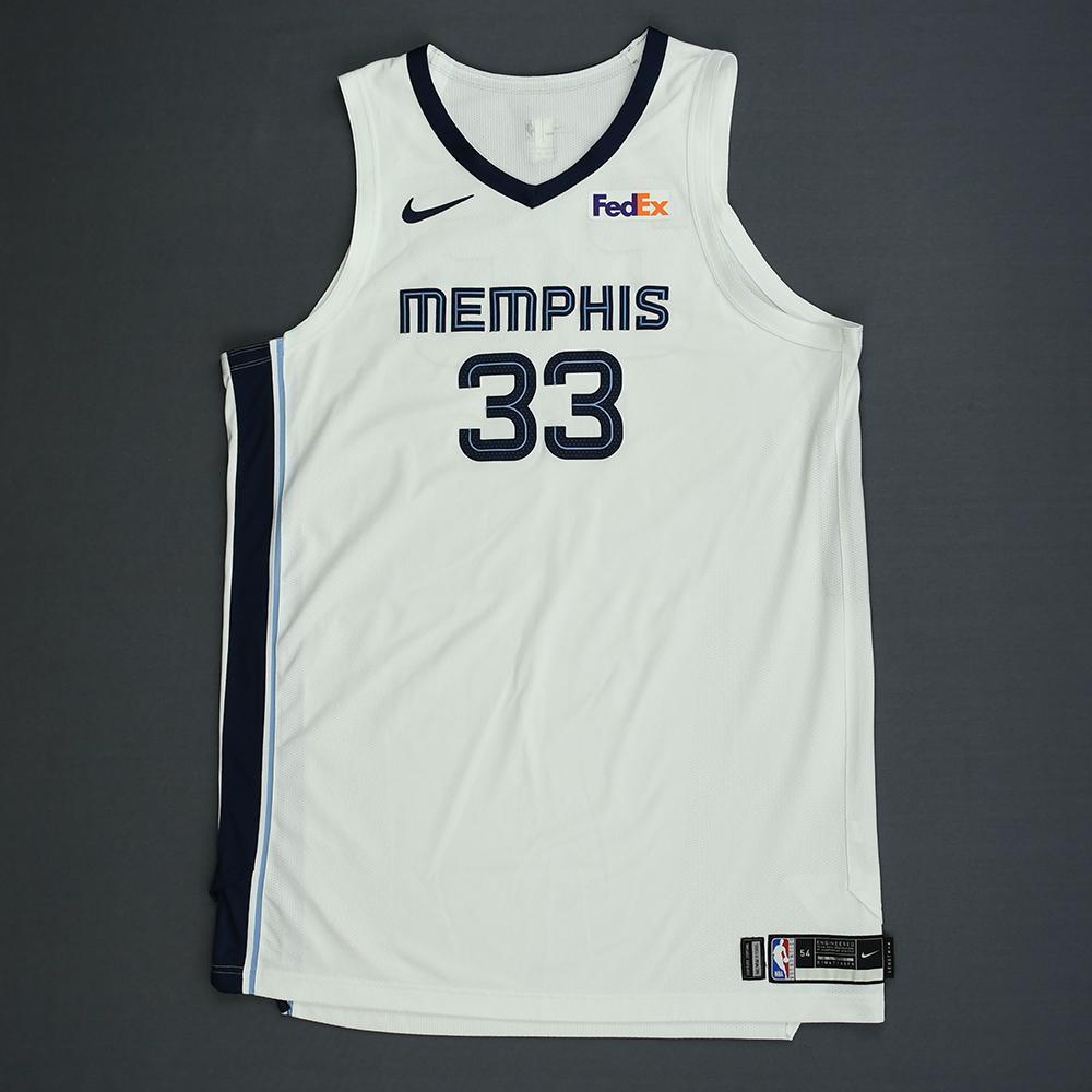 Marc Gasol - Memphis Grizzlies - Kia NBA Tip-Off 2018 - Game-Worn Association Edition Jersey