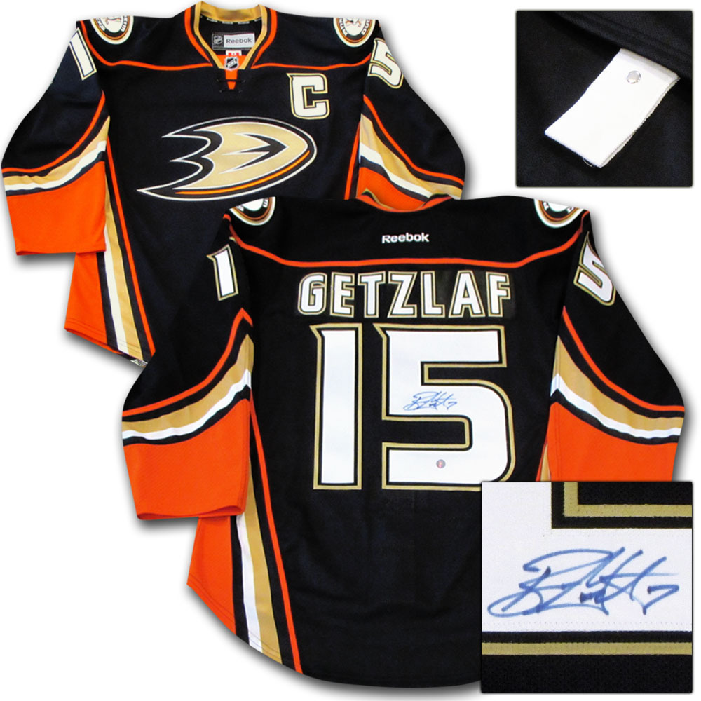 Ryan Getzlaf Autographed Anaheim Ducks Authentic Pro Jersey