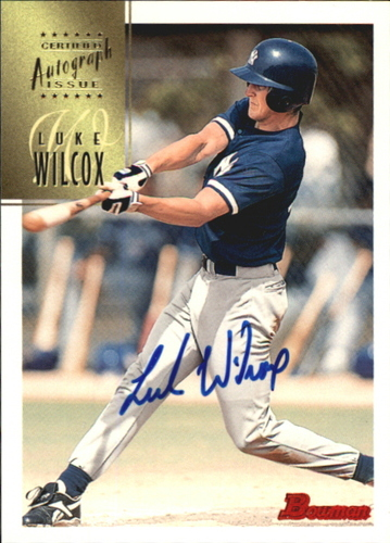 Photo of 1997 Bowman Certified Blue Ink Autographs #CA83 Luke Wilcox
