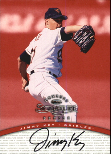 Photo of 1997 Donruss Signature Autographs #59 Jimmy Key/3900