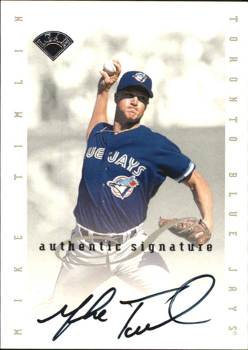 Photo of 1996 Leaf Signature Extended Autographs #202 Mike Timlin
