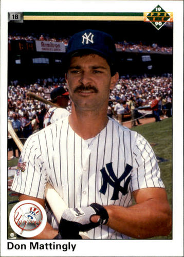 Photo of 1990 Upper Deck #191 Don Mattingly