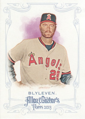 Photo of 2013 Topps Allen and Ginter #30 Bert Blyleven