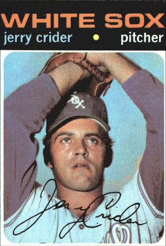 Photo of 1971 Topps #113 Jerry Crider