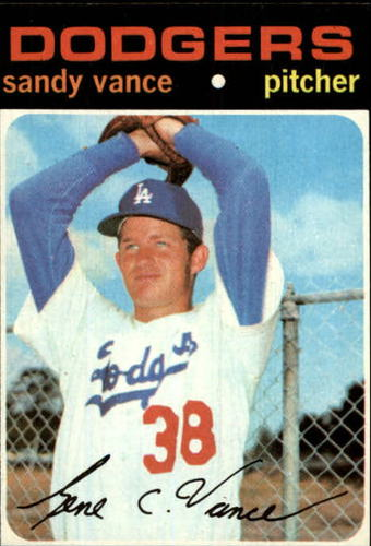 Photo of 1971 Topps #34 Sandy Vance RC