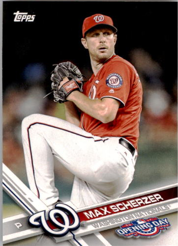 Photo of 2017 Topps Opening Day #9A Max Scherzer