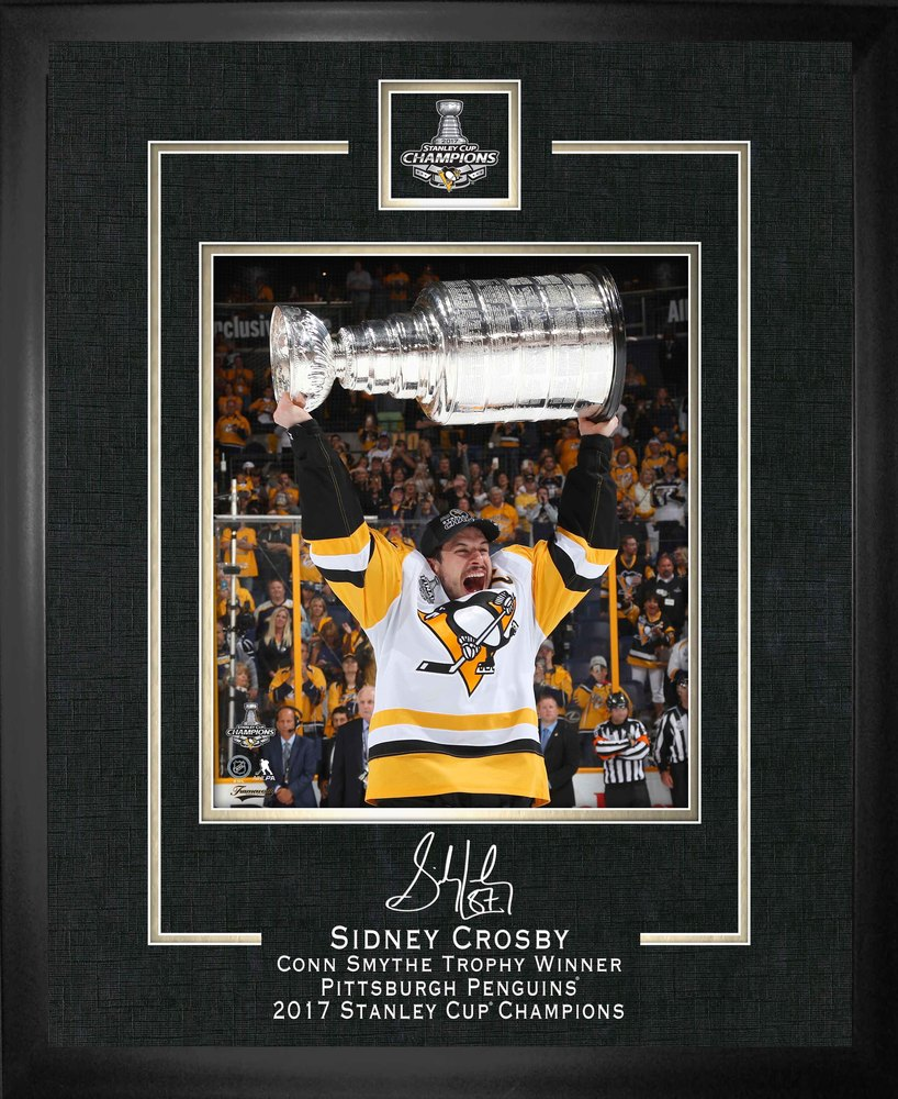 Sidney Crosby - Framed 16x20