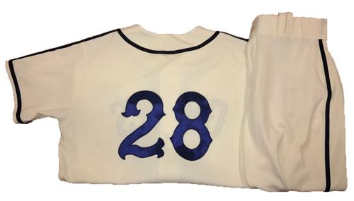 Photo of John Jaso Game-Used Homestead Greys Jersey and Pants