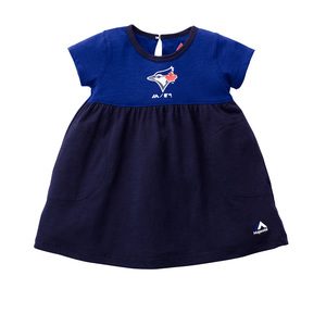 Toronto Blue Jays Toddler/Child 7th Inning Twirl Dress by Majestic