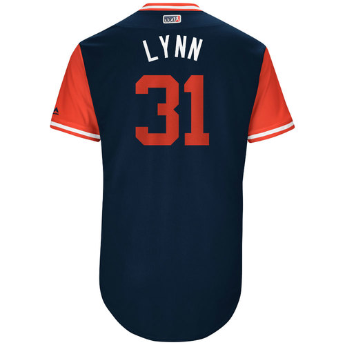 """Photo of Lance """"Lynn"""" Lynn St. Louis Cardinals Game-Used Players Weekend Jersey"""