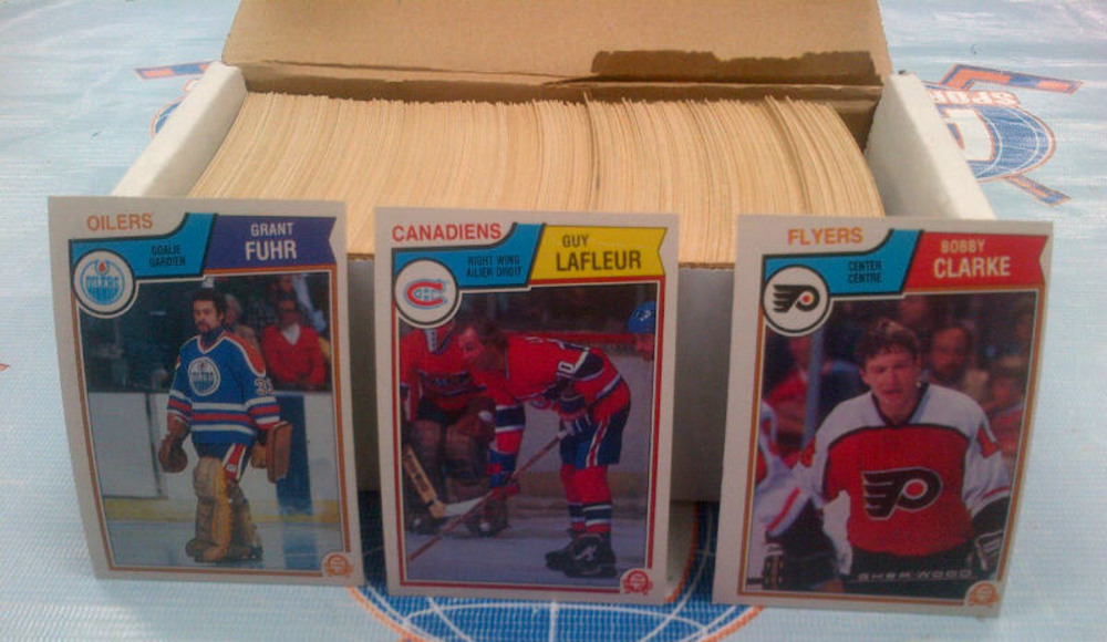 1983-84 OPC Partial Starter Set *OVER 300 NEAR MINT HOCKEY CARDS* *LAFLEUR, BOSSY, SITTLER, CLARKE, FUHR, ETC*