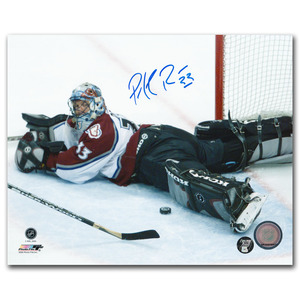Patrick Roy Autographed Colorado Avalanche 8X10 Photo