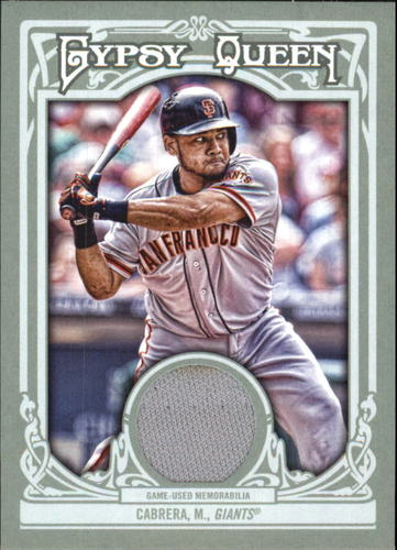 Photo of 2013 Topps Gypsy Queen Relics #MC Melky Cabrera