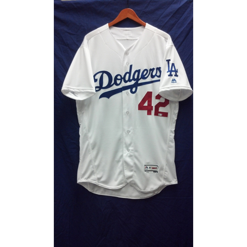 Photo of Joc Pederson Game-Used Jersey - 4/15/16