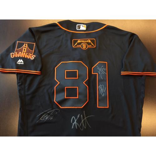 Photo of GCF Auction: Metallica Signed Giants Saturday Black Jersey