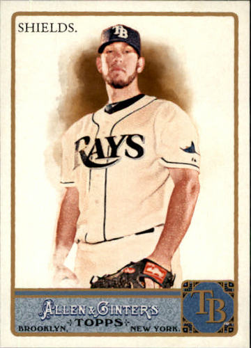 Photo of 2011 Topps Allen and Ginter #222 James Shields