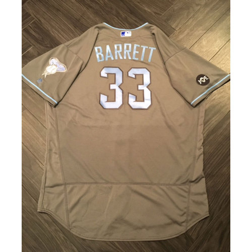Photo of Jake Barrett Game-Used Father's Day Jersey