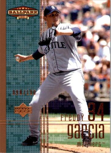 Photo of 2002 Upper Deck Ballpark Idols Bronze #35 Freddy Garcia
