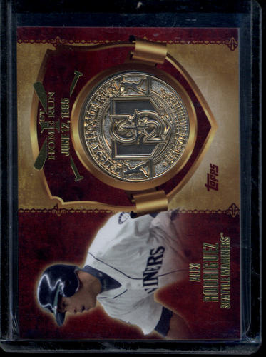 Photo of 2015 Topps First Home Run Medallions Alex Rodriguez