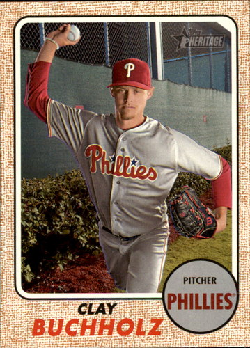 Photo of 2017 Topps Heritage #148 Clay Buchholz