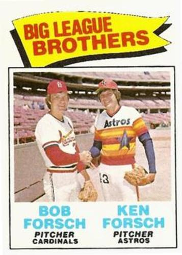 Photo of 1977 Topps #632 Brothers/Bob Forsch/Ken Forsch