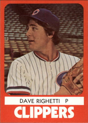 Photo of 1980 Columbus Clippers TCMA #17 Dave Righetti
