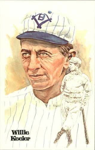 Photo of 1980-02 Perez-Steele Hall of Fame Postcards #23 Willie Keeler -- Set #08689