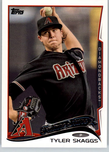 Photo of 2014 Topps #63 Tyler Skaggs FS