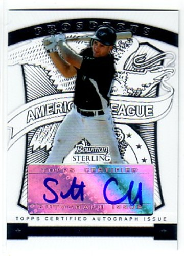 Photo of 2009 Bowman Sterling Prospects #SC Scott Campbell AU