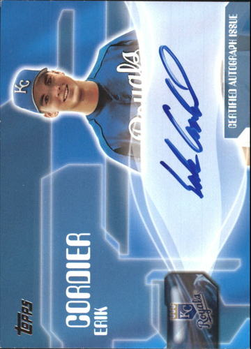 Photo of 2005 Topps Autographs #ECO Erik Cordier F2