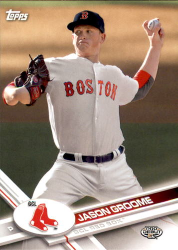 Photo of 2017 Topps Pro Debut #138 Jason Groome