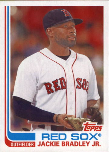 Photo of 2017 Topps Archives No Signature #131 Jackie Bradley Jr.