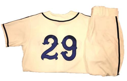 Photo of Francisco Cervelli Game-Used Homestead Greys Jersey and Pants