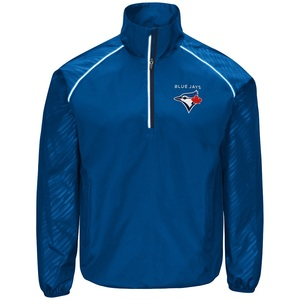 Toronto Blue Jays Oxygen 1/2 Zip Pullover Jacket Royal by G3