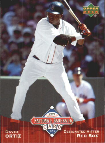 Photo of 2006 Upper Deck National Baseball Card Day #UD9 David Ortiz