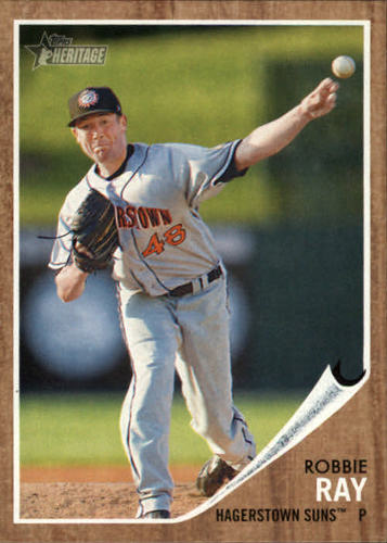 Photo of 2011 Topps Heritage Minors #200 Robbie Ray -- D'backs post-season