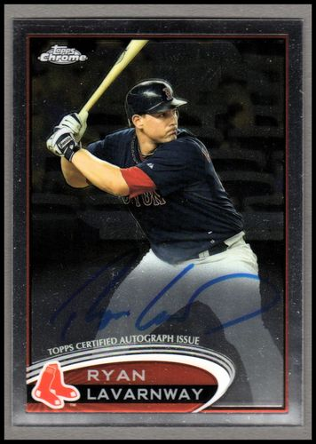 Photo of 2012 Topps Chrome Rookie Autographs #5 Ryan Lavarnway